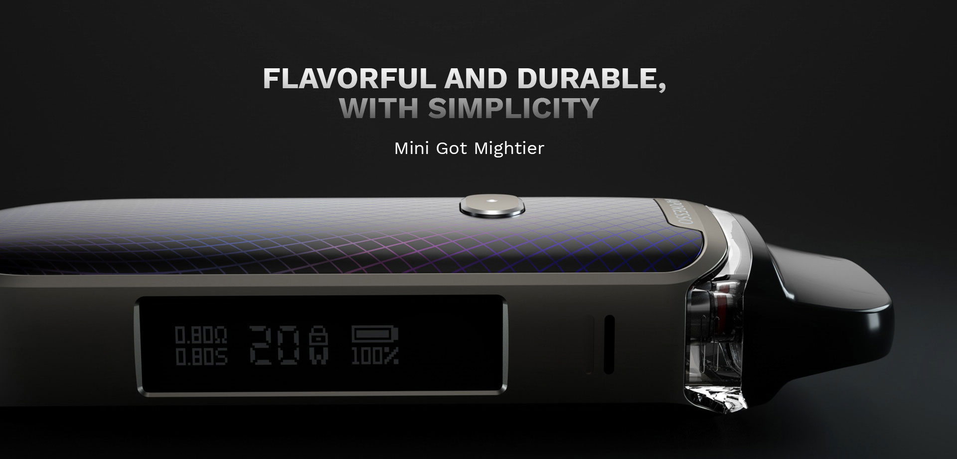 Vaporesso Luxe PM40 Kit Specifications